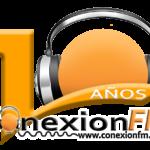 ConexionFM logo aniversario